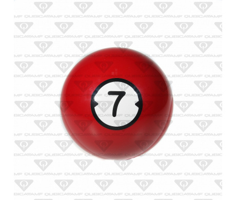033888072 Прокатный шар Billiard Style House Ball  7 Ibs. XS Red