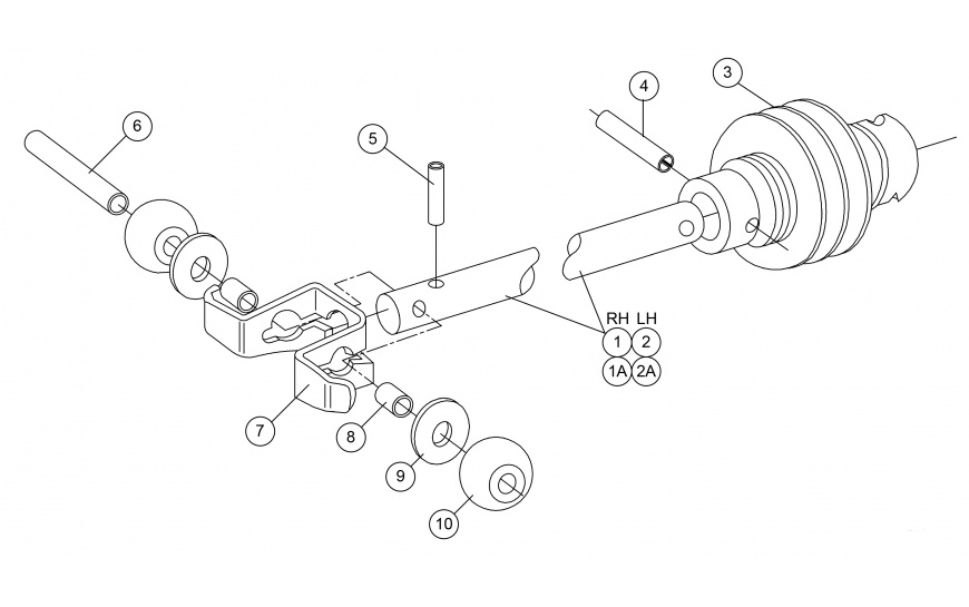 DISTRIBUTOR DRIVE SHAFT ASSEMBLY