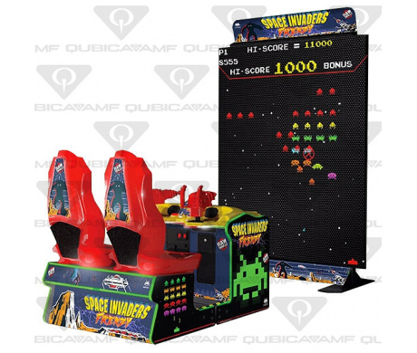 Видосимулятор Namco Space Invaders Frenzy