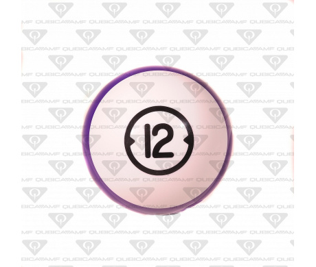 033888125 Прокатный шар Billiard Style House Ball 12 Ibs. L White purple