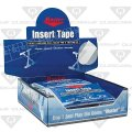 Пластырь (тейп) Master 3/4'''' TEXT WHT-32 PC-12 шт.