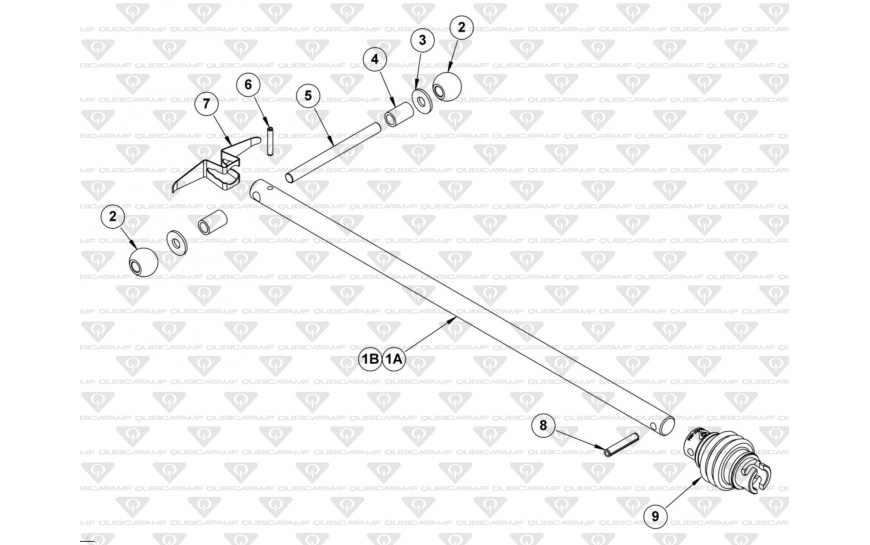 Drive Shaft Assembly, Short, Long