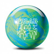 Шар для боулинга STORM POLAR ICE BLUE/GREEN SOLID